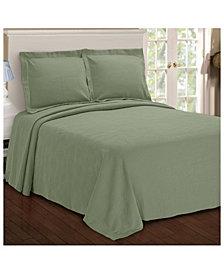 Superior Paisley Jacquard Matelasse 3 Piece Bedspread Set, Full