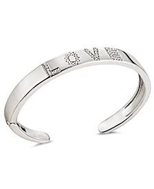 Full of Love Open Cuff Bracelet