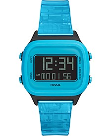 Unisex Digital Blue Watch FS5676