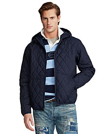 Men's Quilted Hooded Jacket