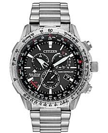 Eco-Drive Men's Chronograph Promaster Air Titanium Bracelet Watch 46mm, Created for Macy's