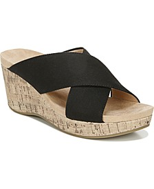 Donna Slide Sandals