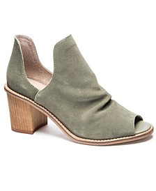 Carlita Open Toe Booties