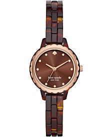 Women's Mini Morningside Acetate Bracelet Watch 28mm