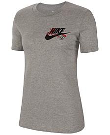 Women's Sportswear Logo-Graphic T-Shirt