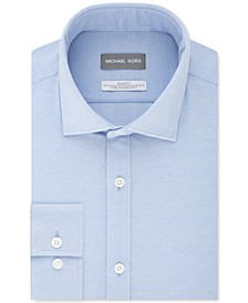 Men's Slim-Fit Performance Stretch Dress Shirt