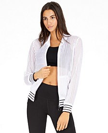 Textured Bomber Jacket, Created For Macy's