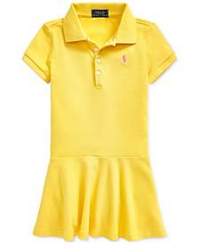 Toddler Girls Short-Sleeve Polo Dress
