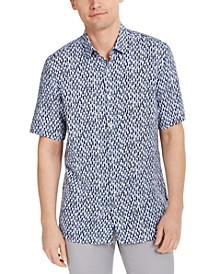 Men's Bond Paint Print Shirt, Created for Macy's