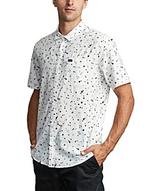 Men's Calico Floral-Print Shirt