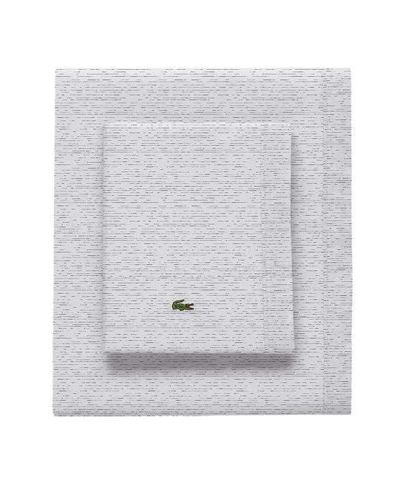 Lacoste Home Lacoste Textured Dashes Full Sheet Set