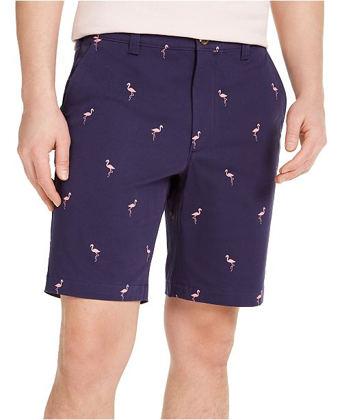 Club Room Men's Flamingo Graphic Shorts, Created for Macy's