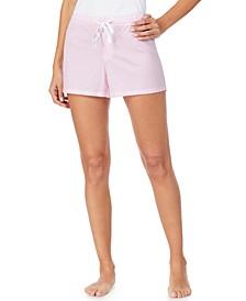 Striped Jersey Pajama Boxer Shorts