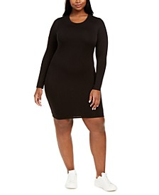 Bodycon Long-Sleeve Mini Dress, Created for Macy's