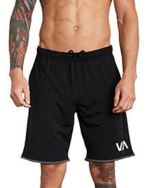 Men's Sport Short III 4-Way Stretch Logo-Print Shorts