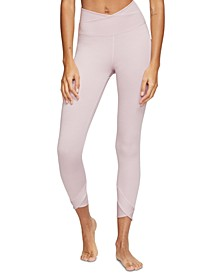 Yoga Women's Wrap High-Waist Leggings