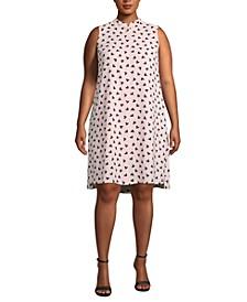 Plus Size Charlseton Printed Shift Dress