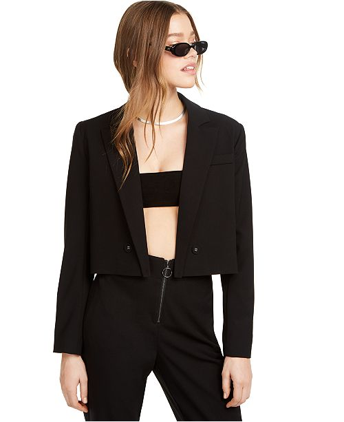 Danielle Bernstein Cropped Blazer, Created for Macy's