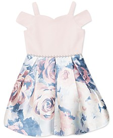 Little Girls Floral Bubble Dress