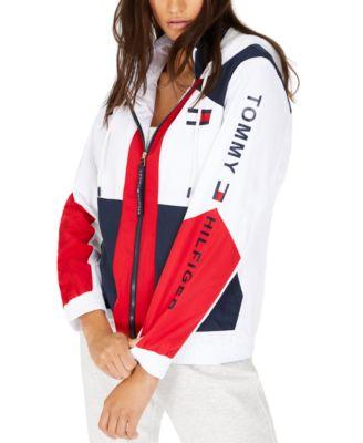 Colorblocked Zip-Up Active Jacket
