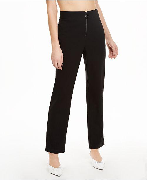 Danielle Bernstein Zip-Up Pants, Created for Macy's