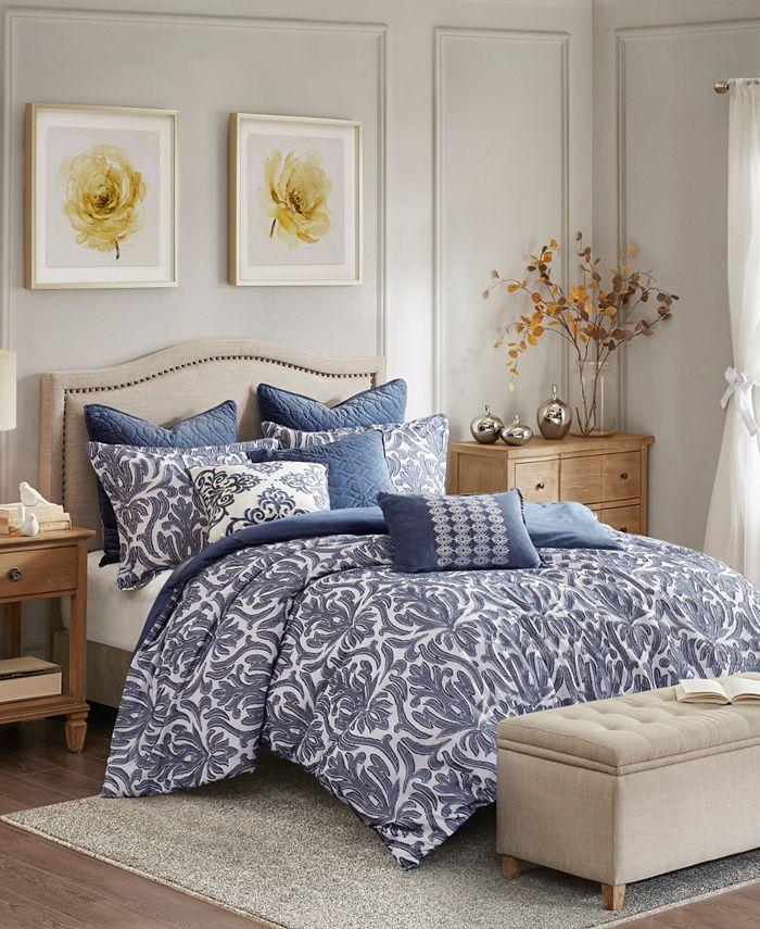 Madison Park Signature - Maison 9-Piece King/Cal King Comforter Set