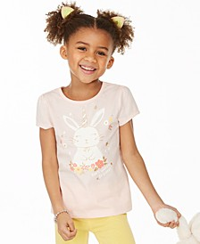 Toddler Girls Be Hoppy Graphic T-Shirt, Created for Macy's