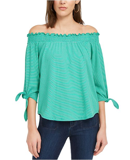 Maison Jules Off-The-Shoulder Top, Created for Macy's