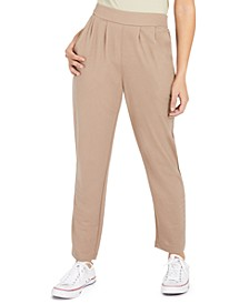 Juniors' Pull-On Pleated Trousers