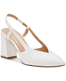 INC Women's Brelina Slingbacks, Created for Macy's