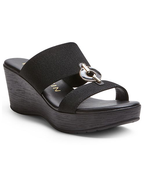 Anne Klein Hadya Wedge Sandals