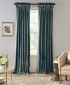 Korena Tie-Top Crushed Velvet Curtain Collection