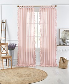Bella Sheer Ruffle Curtain Collection