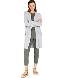 INC Utility Cardigan, Solid Halter Top & Cargo Jogger Pants, Created for Macy's