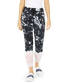 Cotton Tie-Dyed Jogger Pants