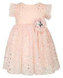 Baby Girl Stars Moon Tulle Dress