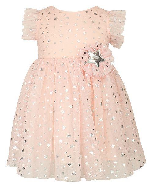 Popatu Baby Girl Stars Moon Tulle Dress