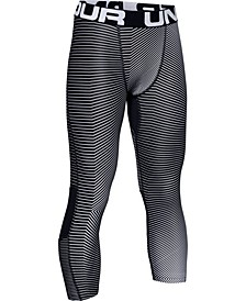 Boys' HeatGear® Armour ¾ Printed Leggings