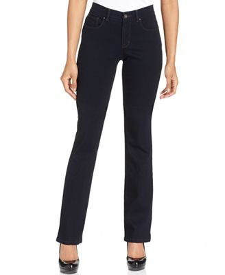 Style & Co Petite Tummy-Control Bootcut Jeans, Created for Macy's ...