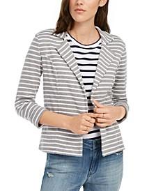 Striped Breton Blazer, Created For Macy's