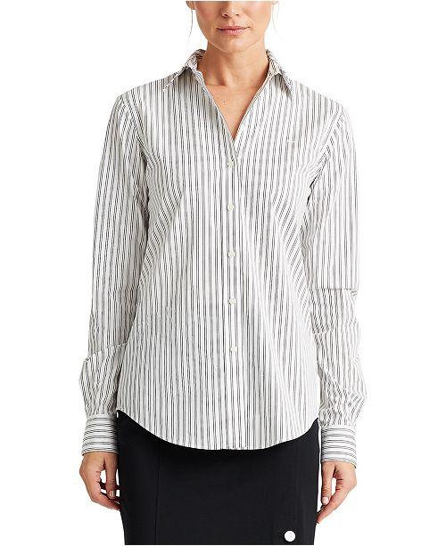 Lauren Ralph Lauren Classic Striped Shirt