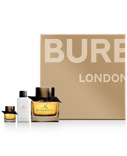 Burberry 3-Pc. My Burberry Black Eau de Parfum Gift Set