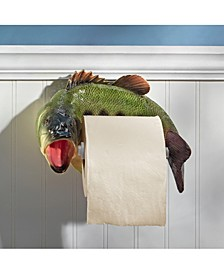 Reeling Trout Bathroom Toilet Paper Holder