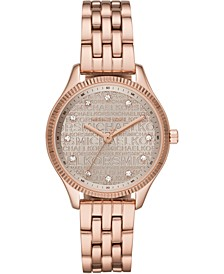 Women's Lexington Rose Gold-Tone Stainless Steel Bracelet Watch 36mm
