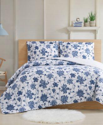 Estate Bloom 3-Piece Full/Queen Comforter Set