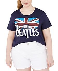 Trendy Plus Size The Beatles Graphic T-Shirt