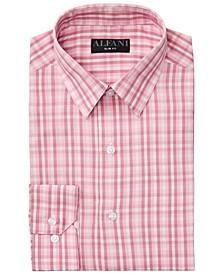 Alfani Men's AlfaTech Gingham Dress Shirt, Created for Macy's