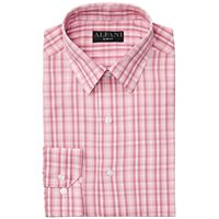 Alfani Men's AlfaTech Gingham Dress Shirt