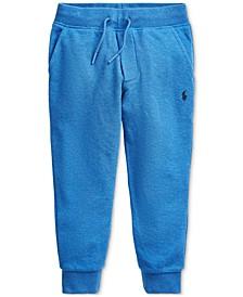 Toddler Boys Cotton Mesh Jogger Pants