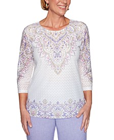 Petite Nantucket Embellished Top